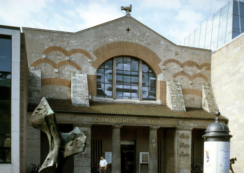 German National Museum Former main entrance hall