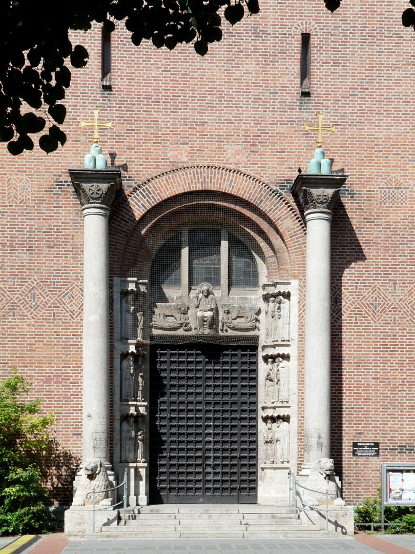 Friedenskirche (Church of Peace) tower portal