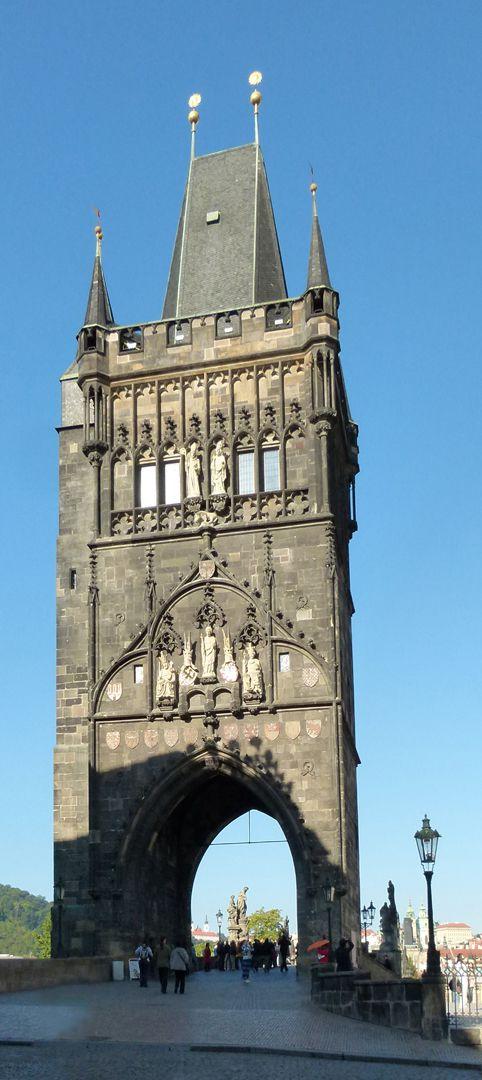 Prague, Charles Bridge Old Town Bridge tower