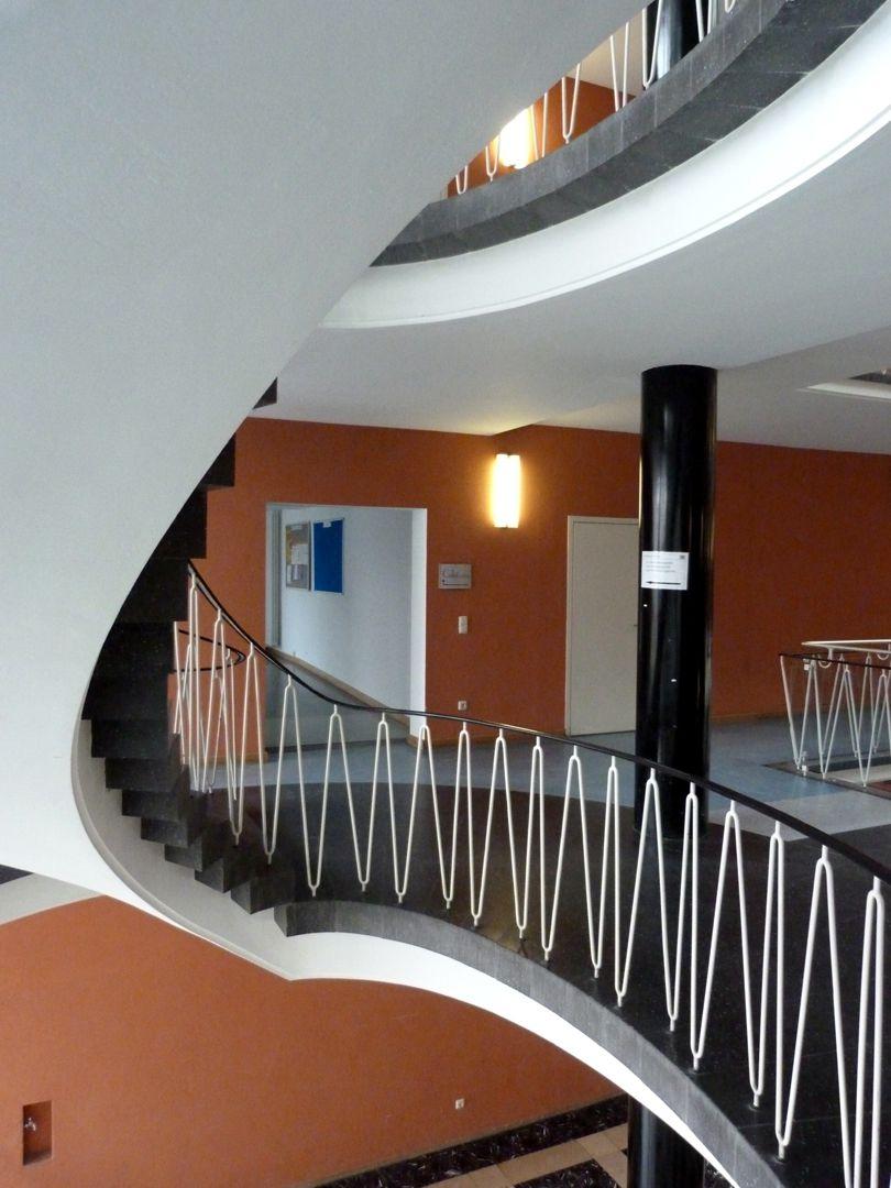 Herzog-Max-Burg, (Herzog-Max-Castle) Munich, Court Building Flight of stairs