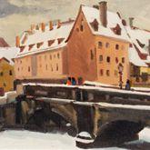 Max Bridge in winter
