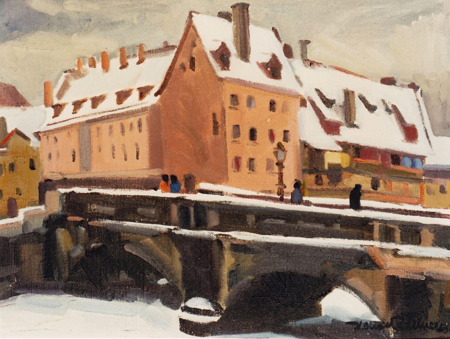 Max Bridge in winter Max Bridge in winter