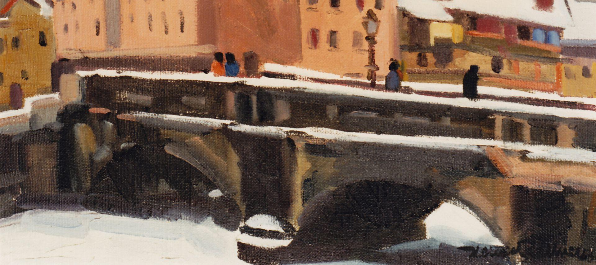 Max Bridge in winter Detail