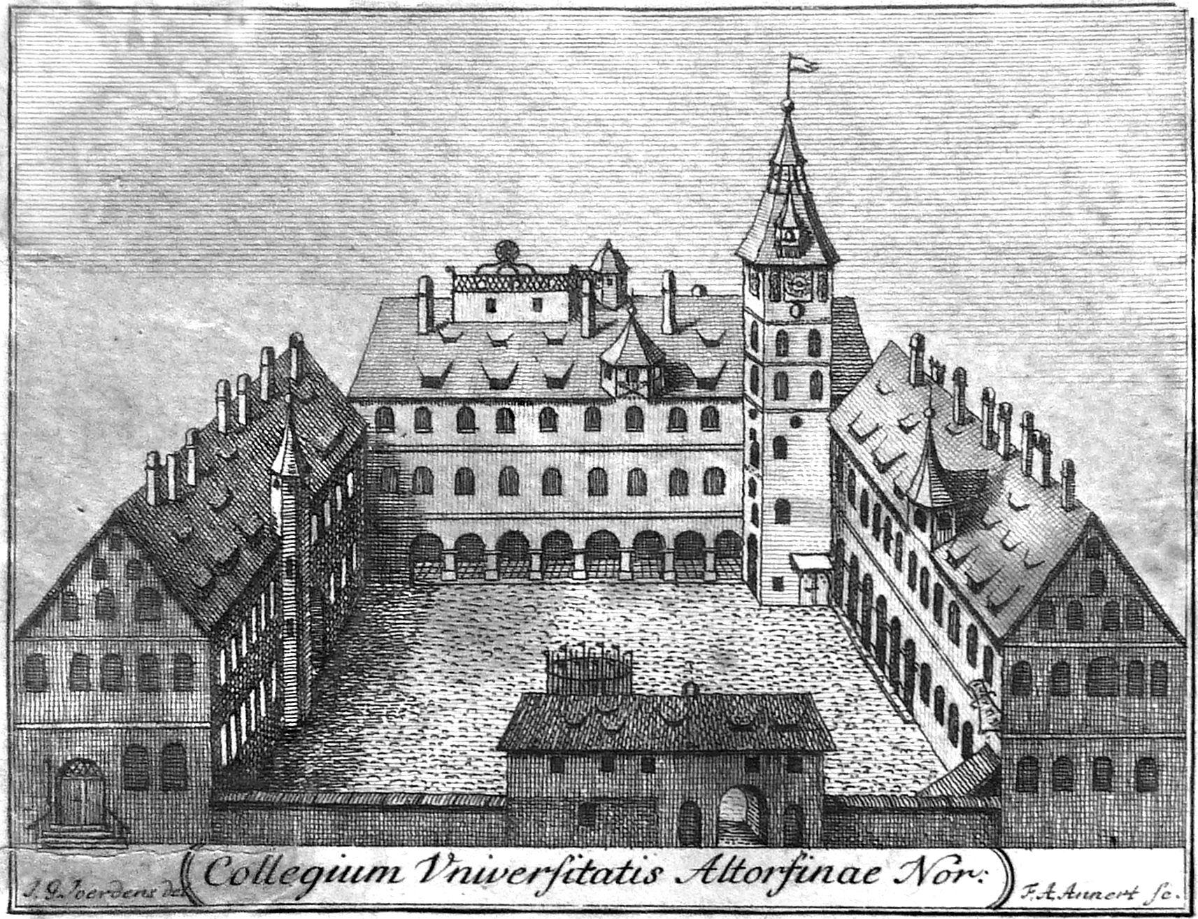 Collegium Universitatis Altorfinae Nor. General view