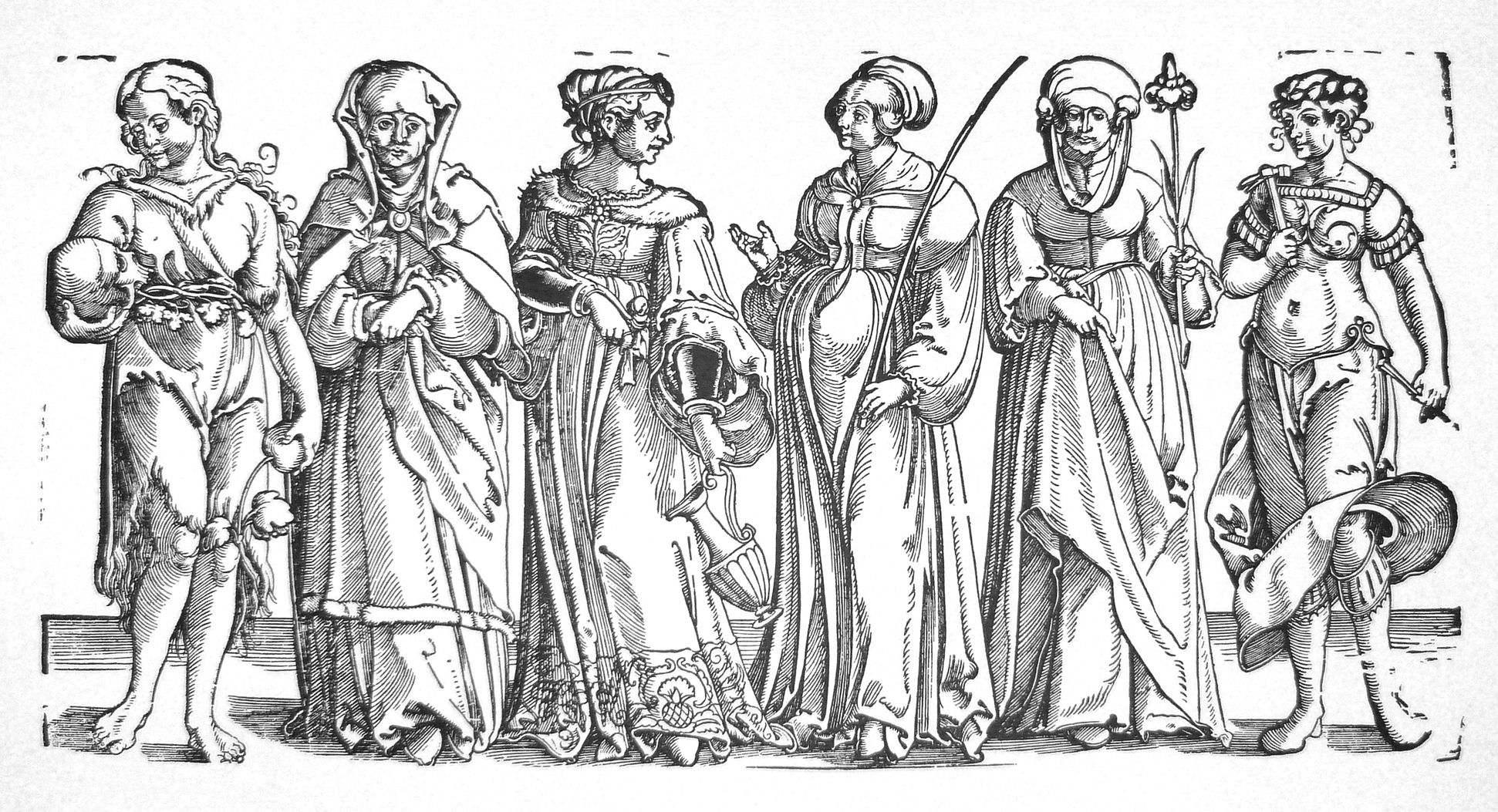 Six women of the Old Testament Total view