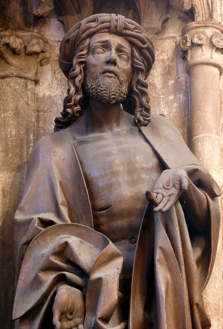 Volckamer Memorial Foundation, Man of Sorrows Man of Sorrows, detail