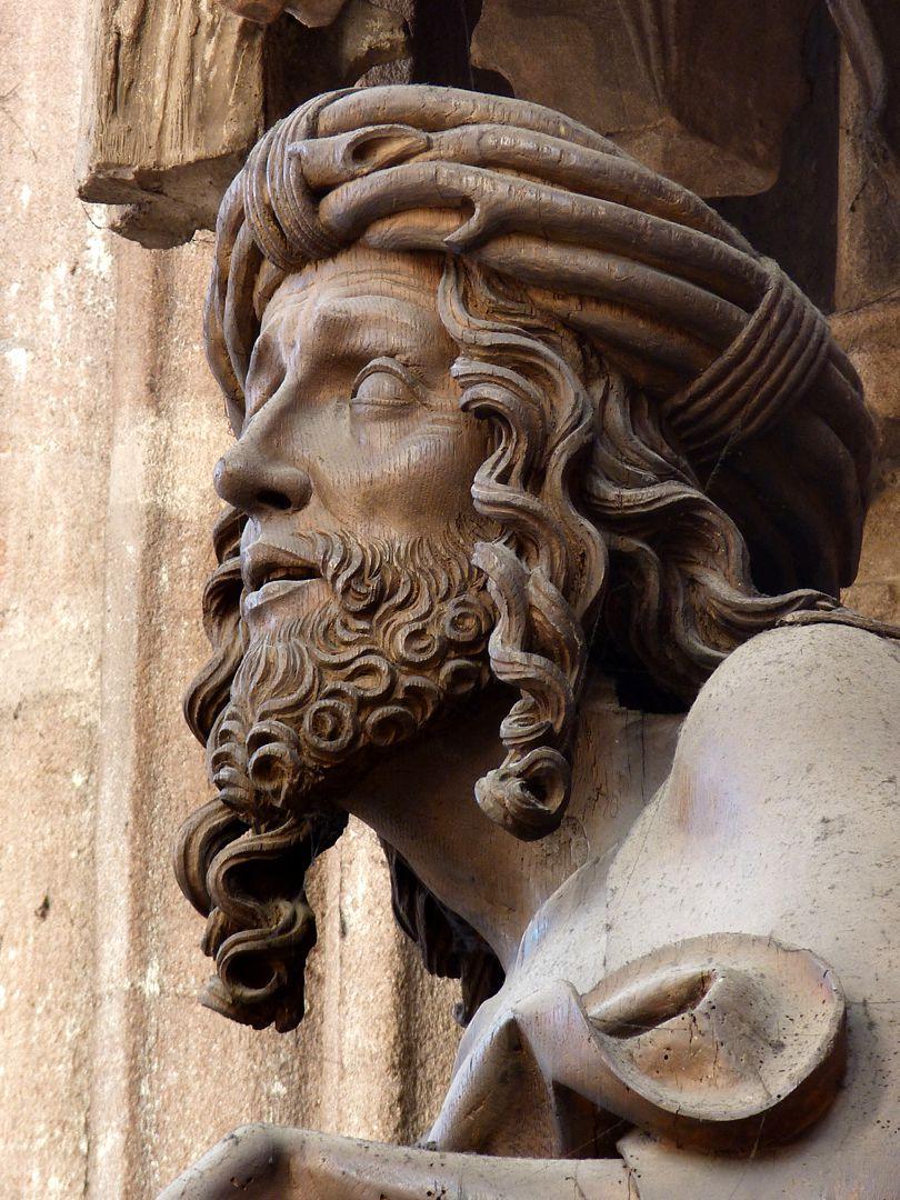 Volckamer Memorial Foundation, Man of Sorrows Man of Sorrows, detail: Head