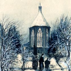St. Johannis-Church (St John´s Church) in winter