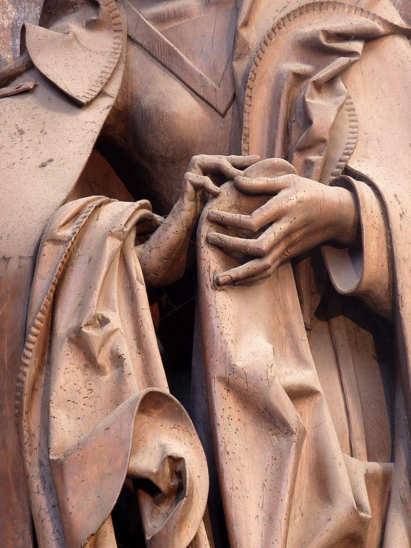 Volckamer Memorial Foundation, Mother of Sorrows Mother of Sorrows, hands