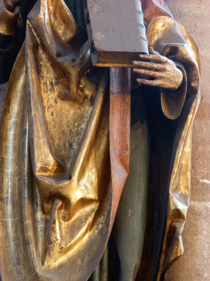Assistant figures St. John, detail