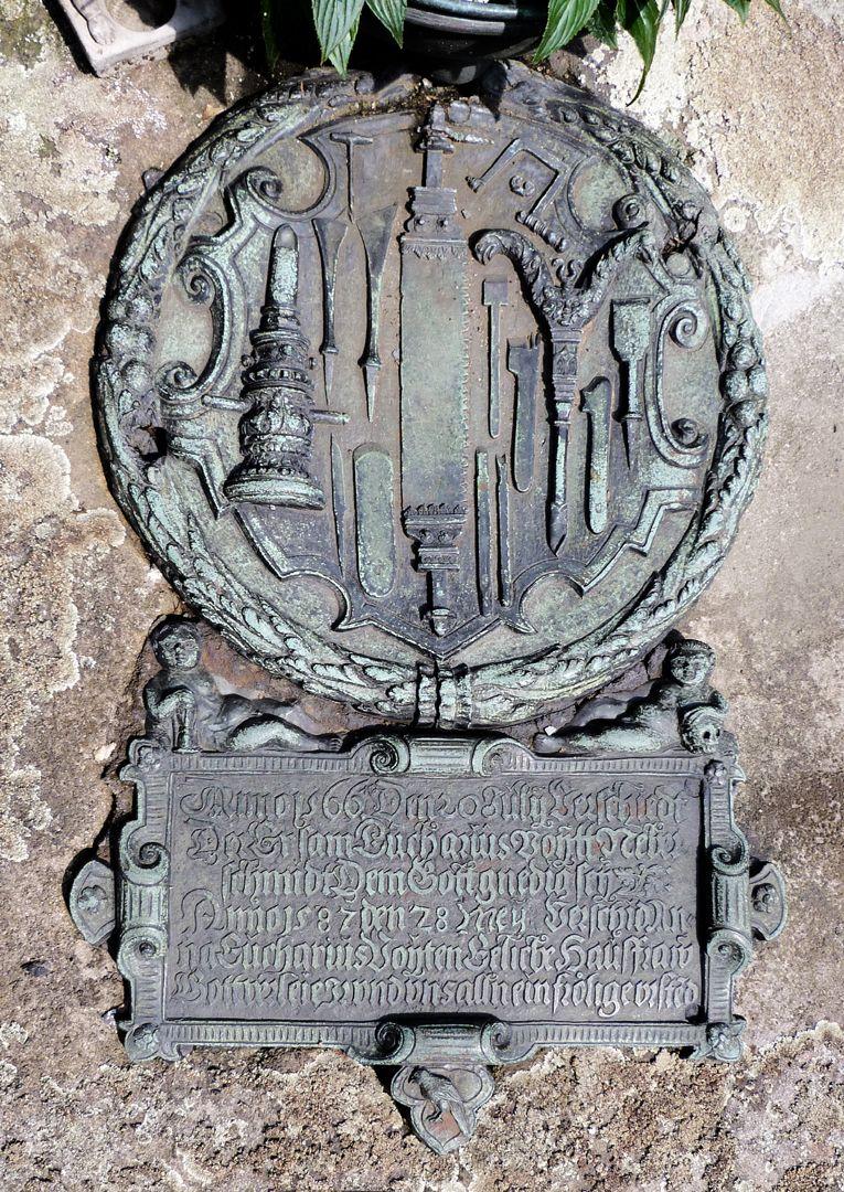 Epitaph des Eucharius Voytt Gesamtansicht