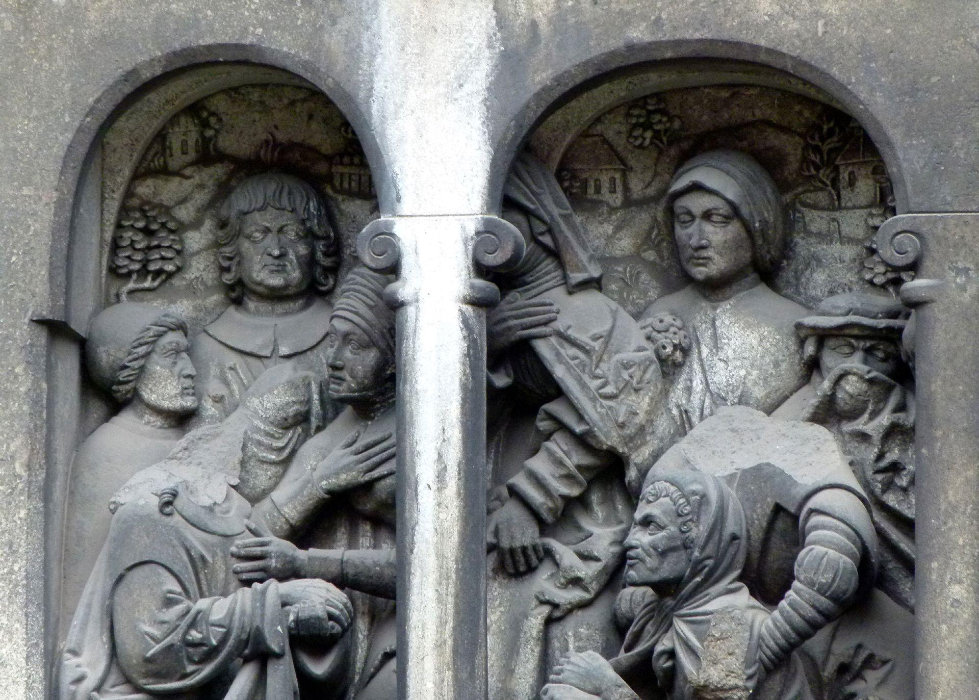 Resurrection of Lazarus Detail