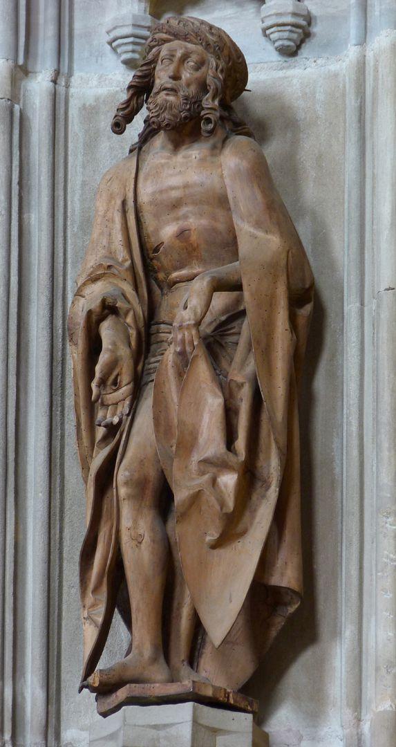 Mary, Christ, John Man of Sorrows