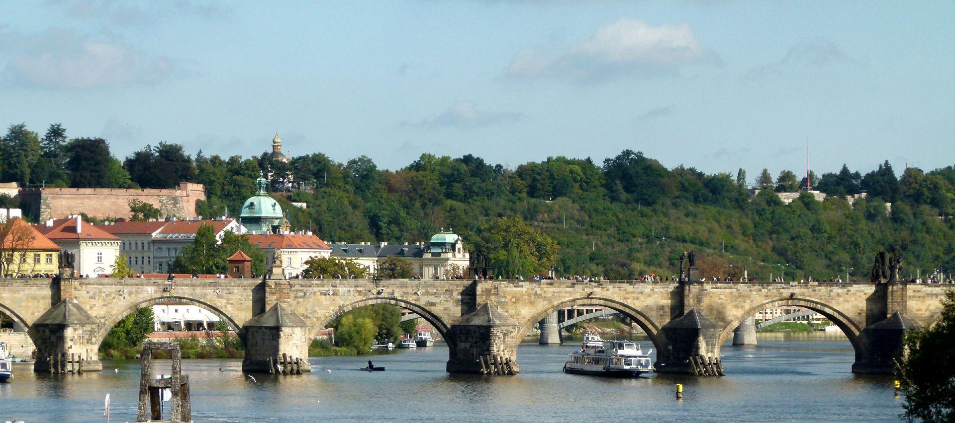 Prague, Charles Bridge Charles Bridge from the south