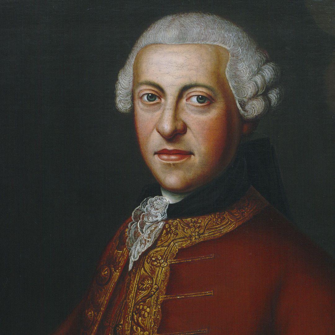 Portrait of Albrecht Ludwig von Hailbronner (1727 – 1788) Detail
