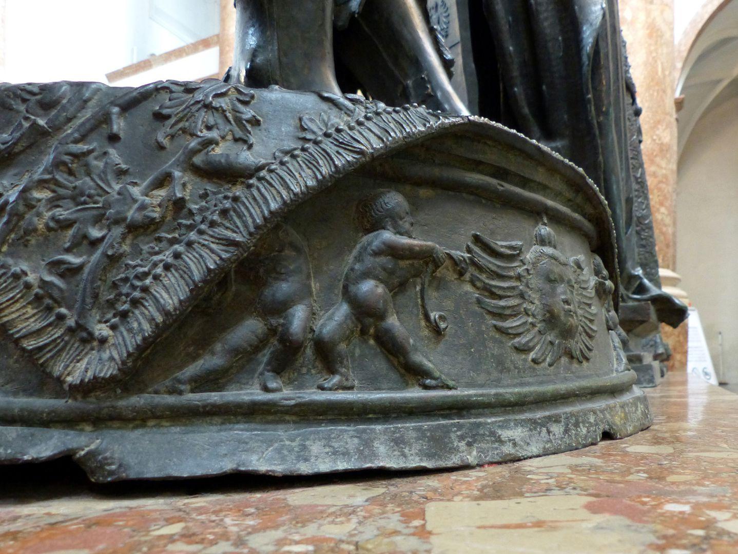 Albrecht of Habsburg (Innsbruck) Pedestal with putti
