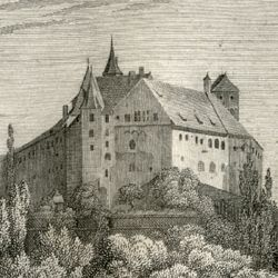 View of the Nuremberg Castle