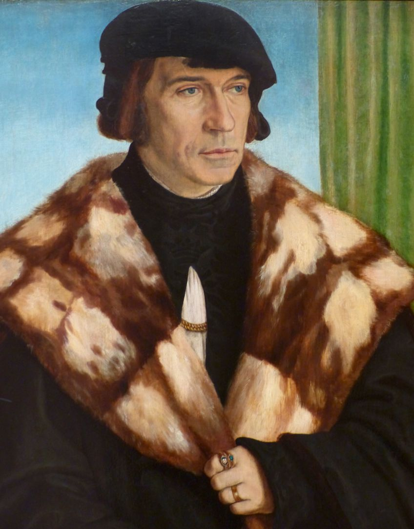 Portrait of Ruprecht Stüpf (Madrid) Detail