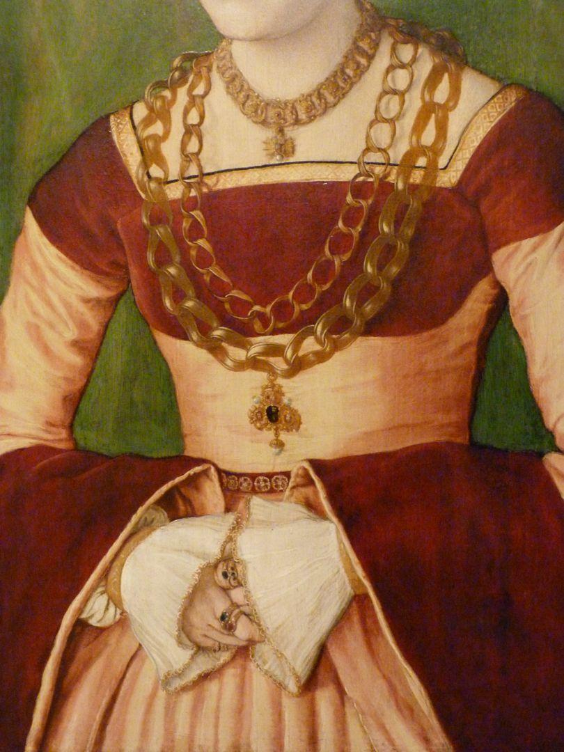 Portrait of Ursula Rudolph(Madrid) Detail