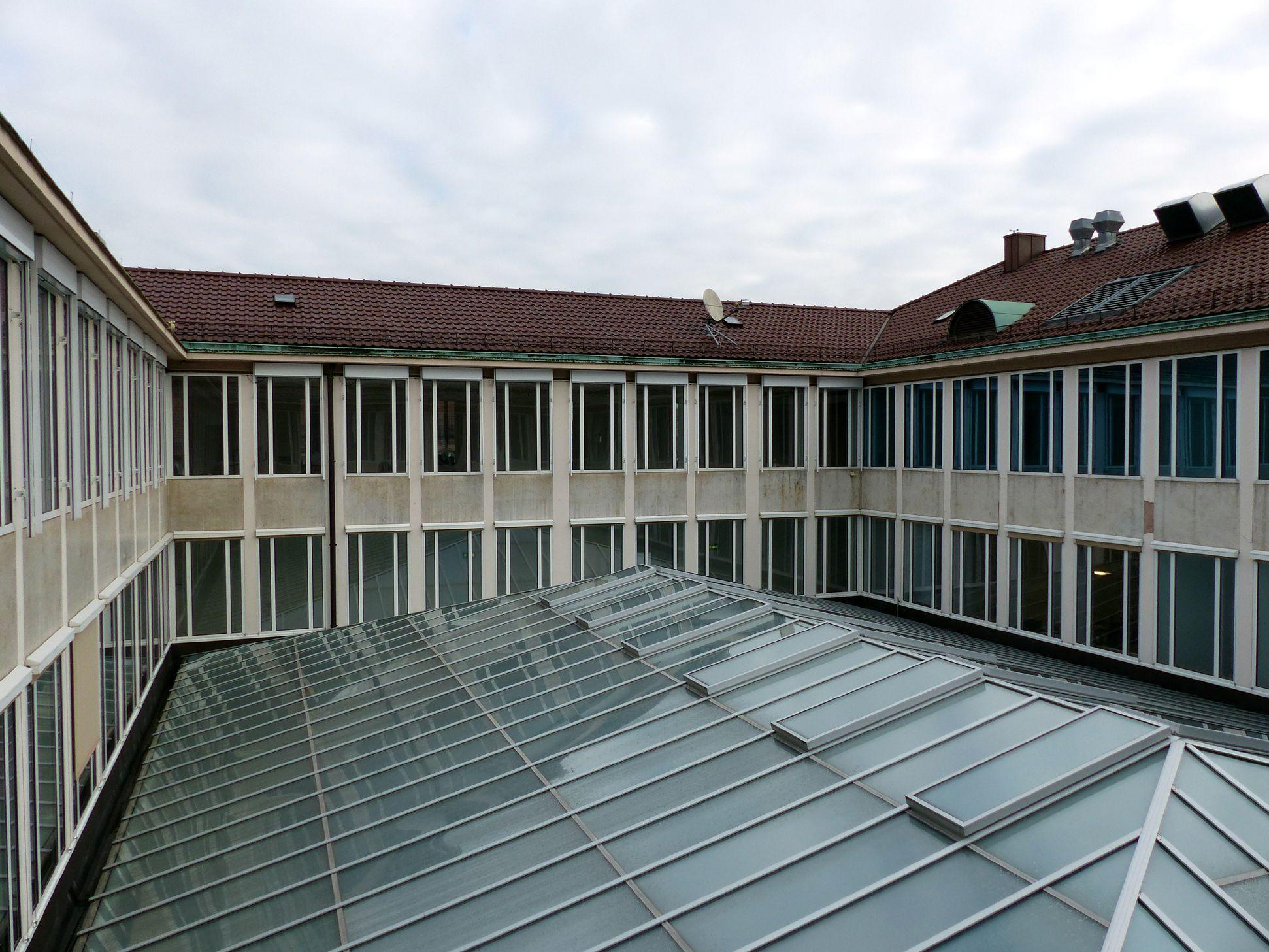 Former Bavarian State Bank Atrium