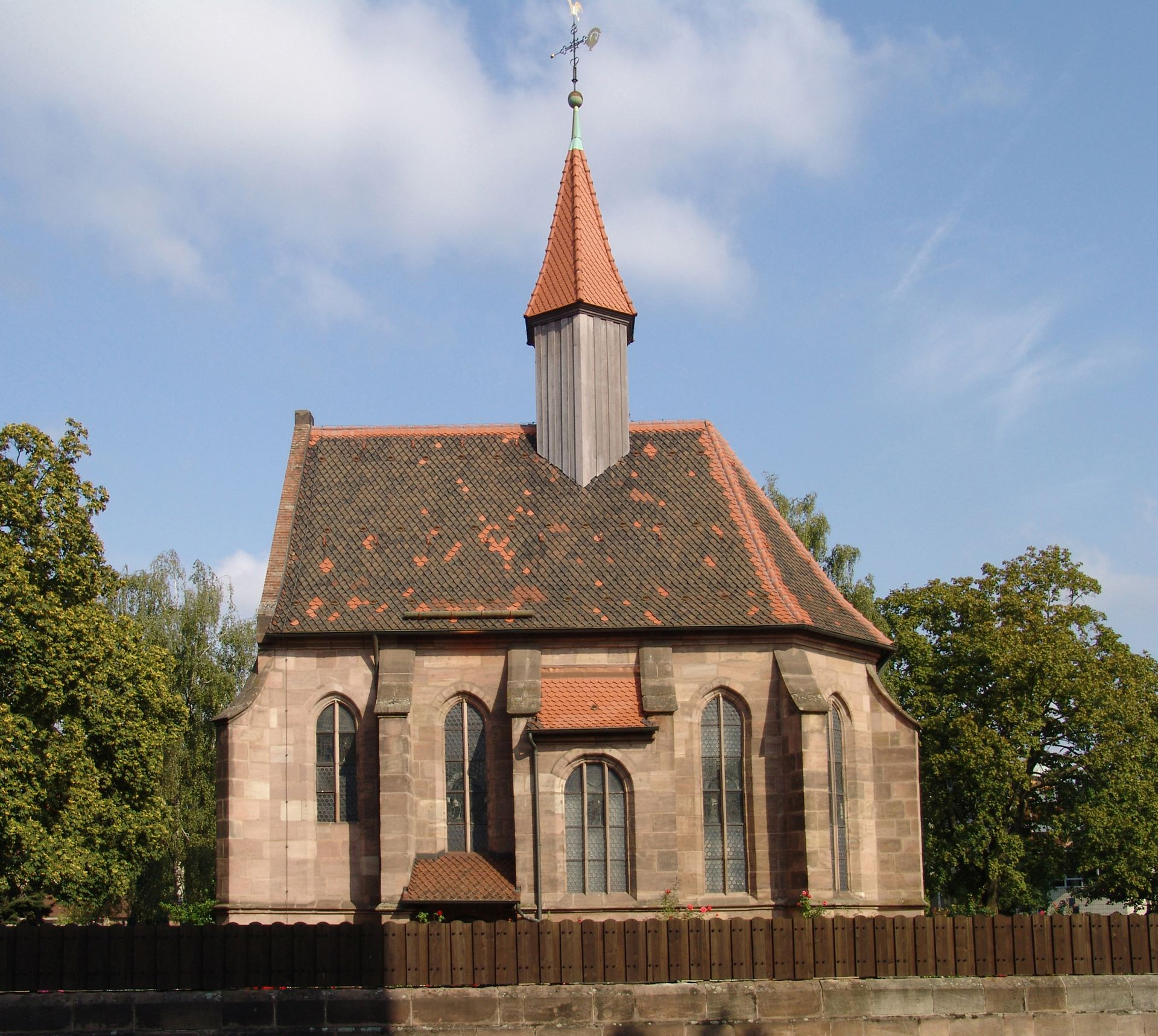 St. Rochus Chapel South front