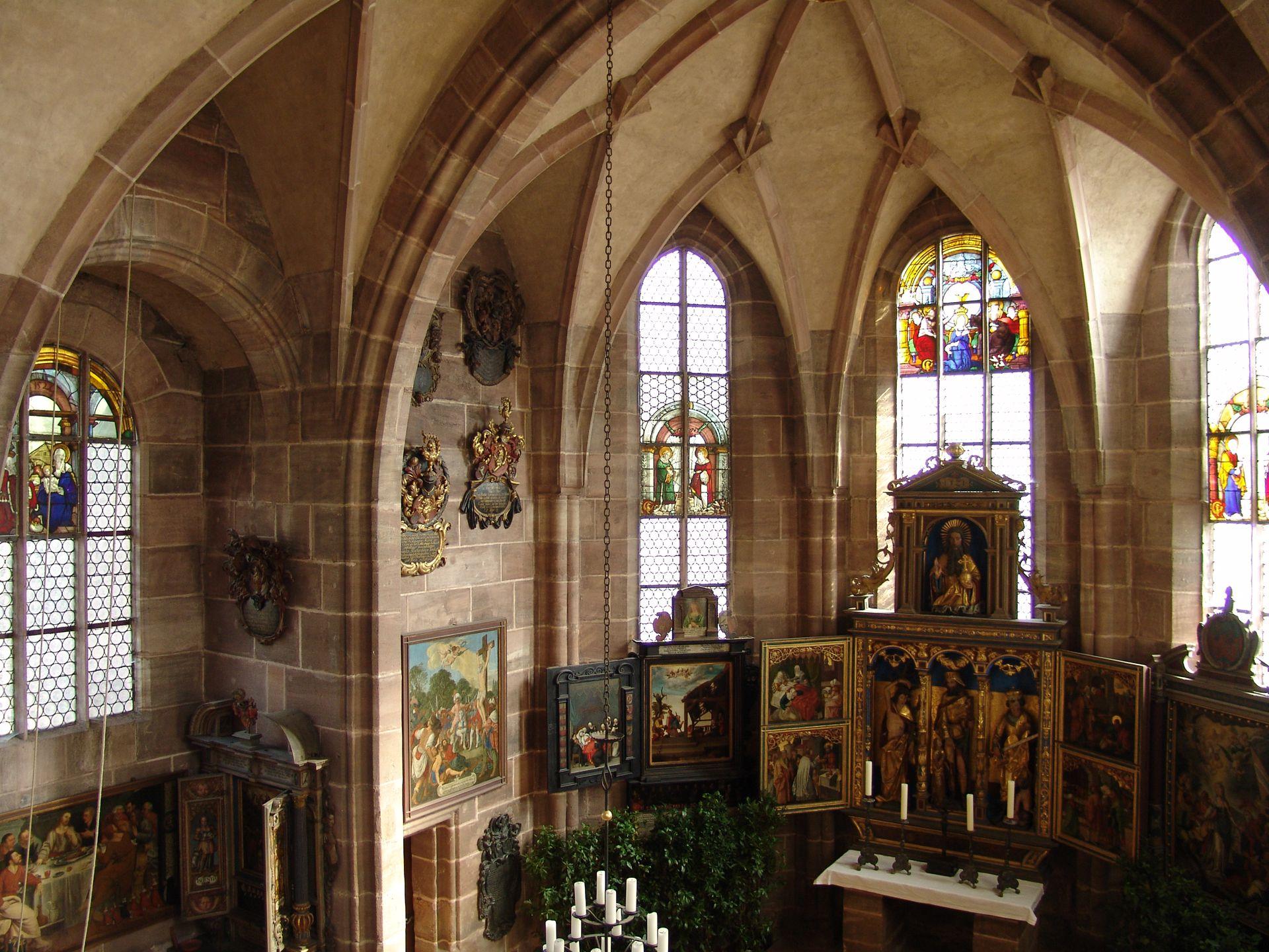 St. Rochus Chapel Interior