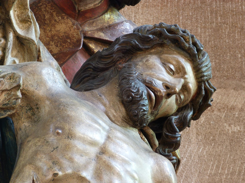 Great Pietà Oberkörper Jesu