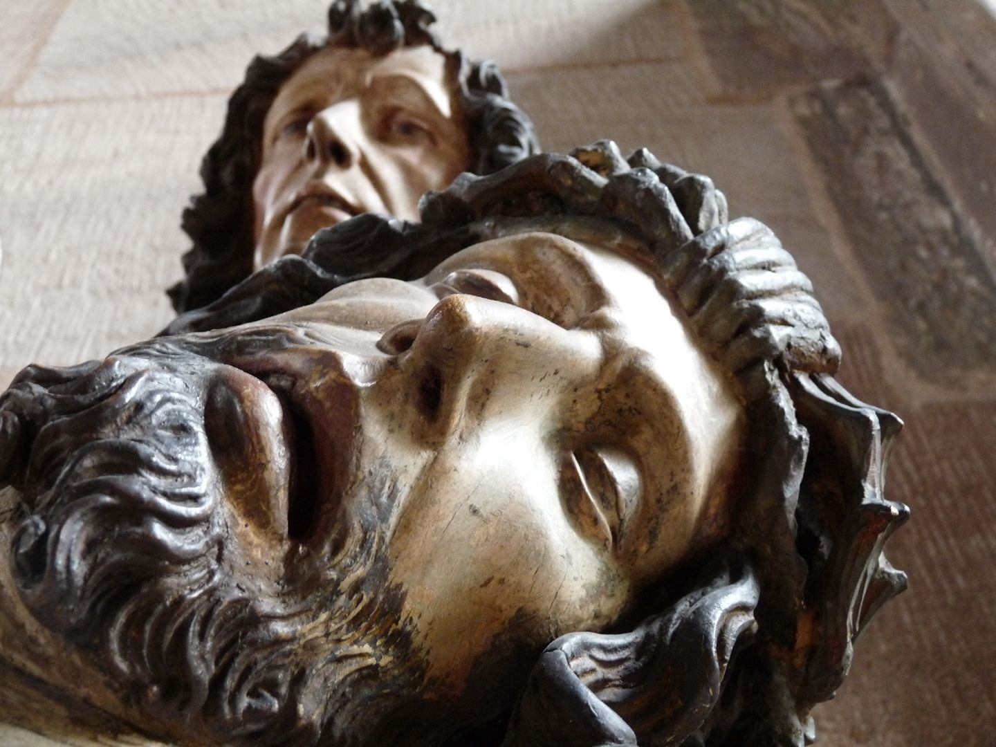 Great Pietà Faces of Jesus and John