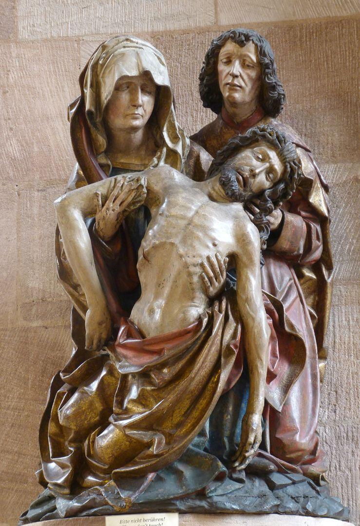 Great Pietà Frontal view