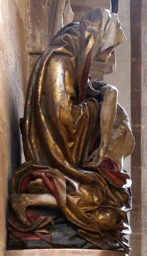 Great Pietà Left side