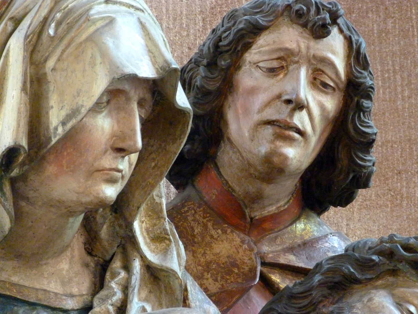Great Pietà Heads of Mary and John