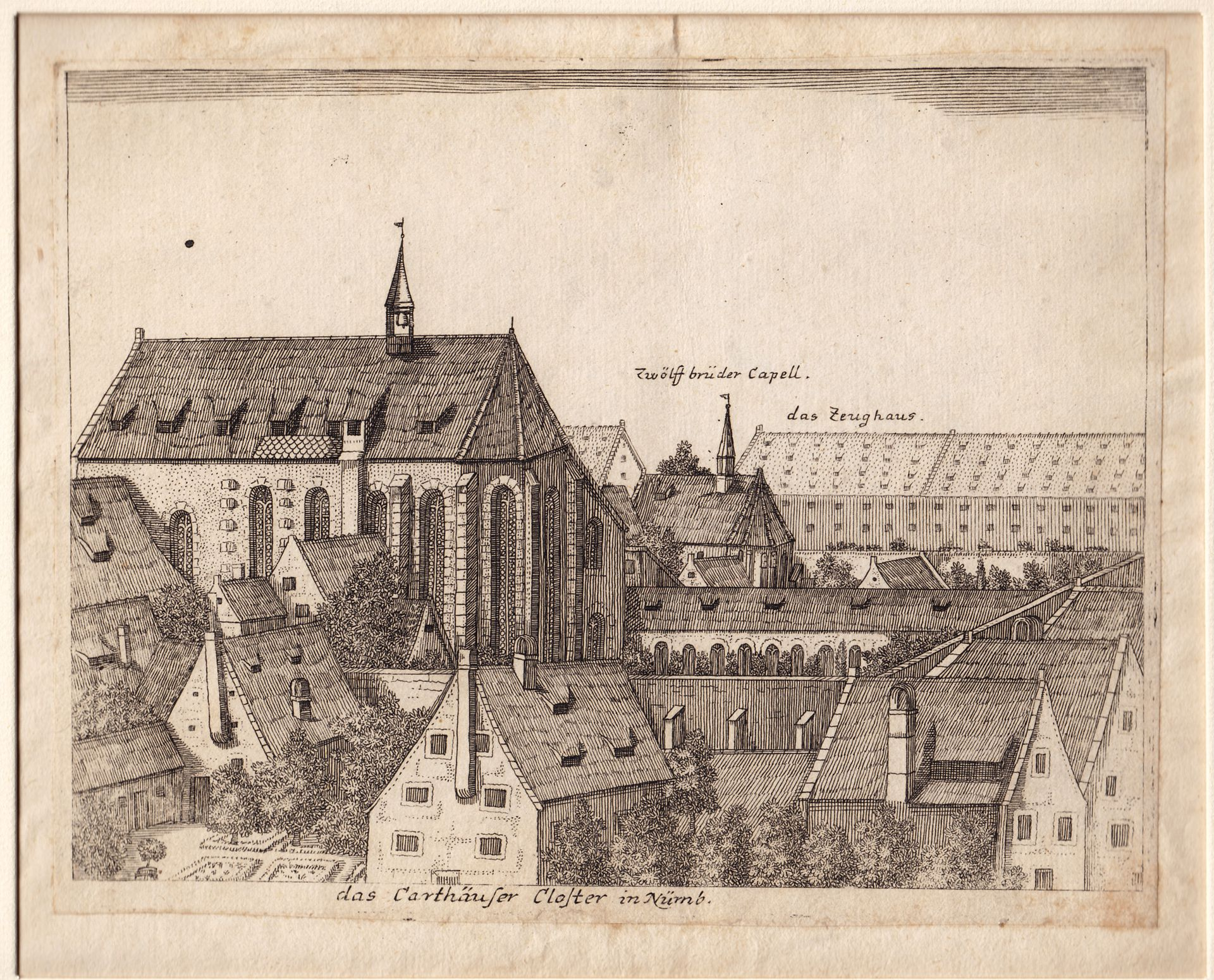 The Carthusian Convent in Nuremberg General view