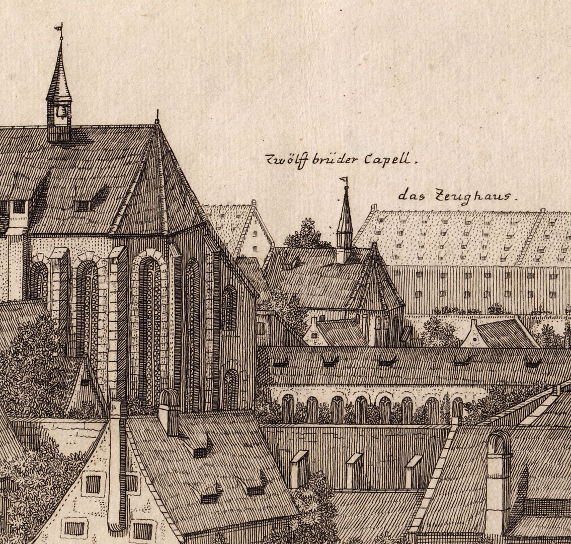 The Carthusian Convent in Nuremberg Detail