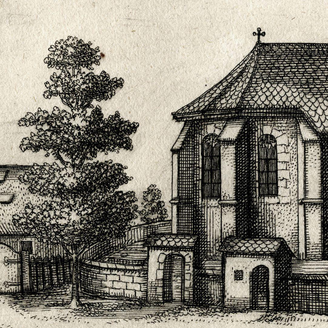 Die Kirchen in Rickerses-dorf. bej N: Detail
