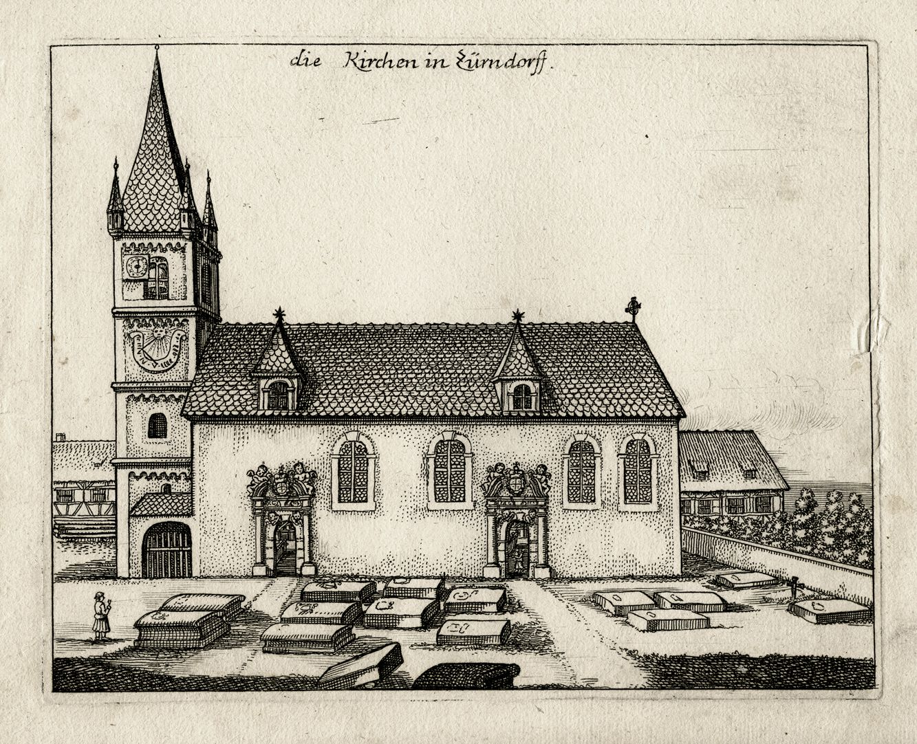 The Church in Zirndorf General view
