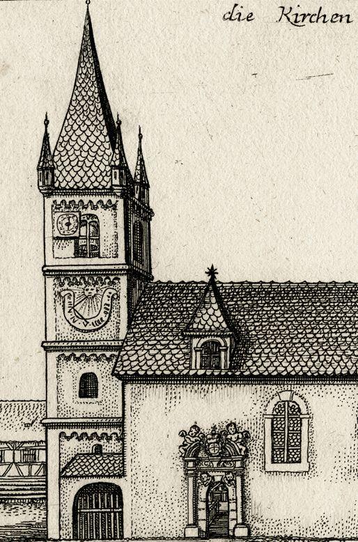 The Church in Zirndorf Church steeple