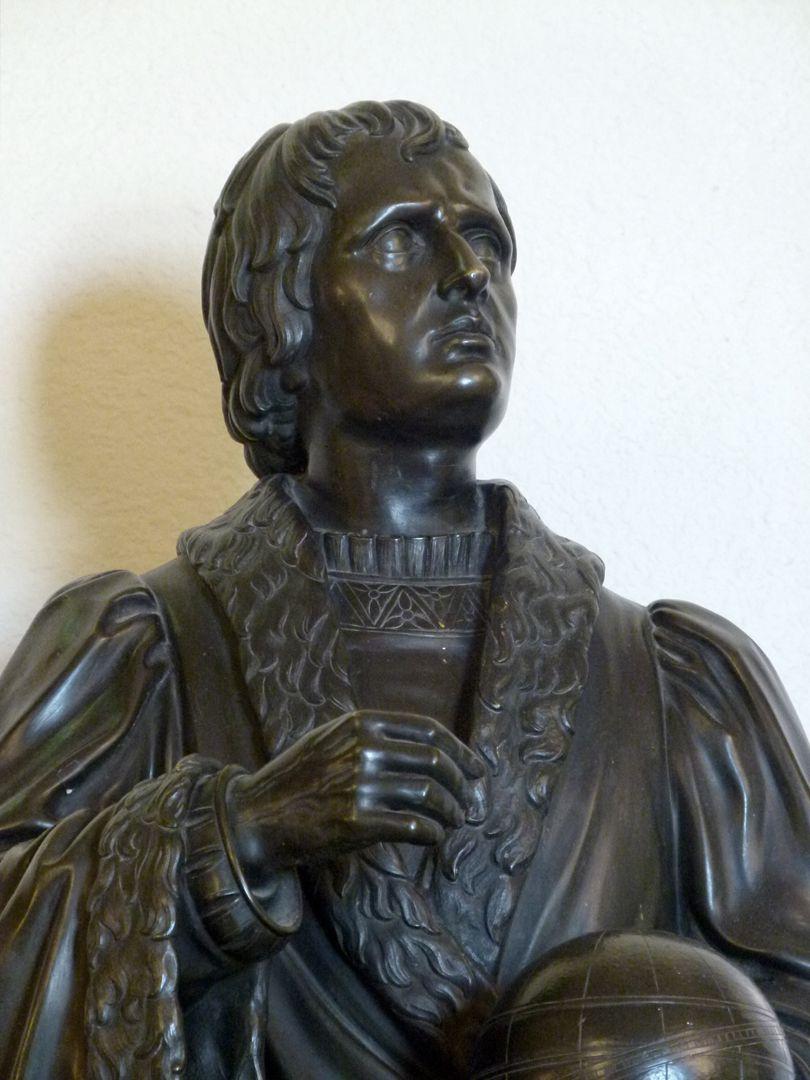 Statuette of Regiomontanus Detail