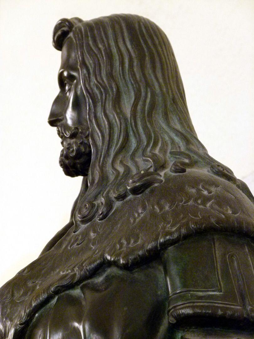 Statuette of Albrecht Durer Detail