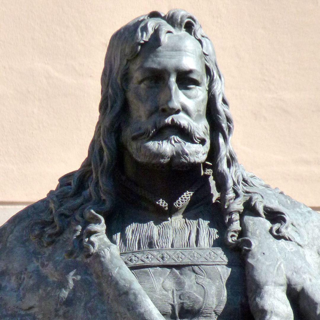 Monument of Albrecht Durer Detail