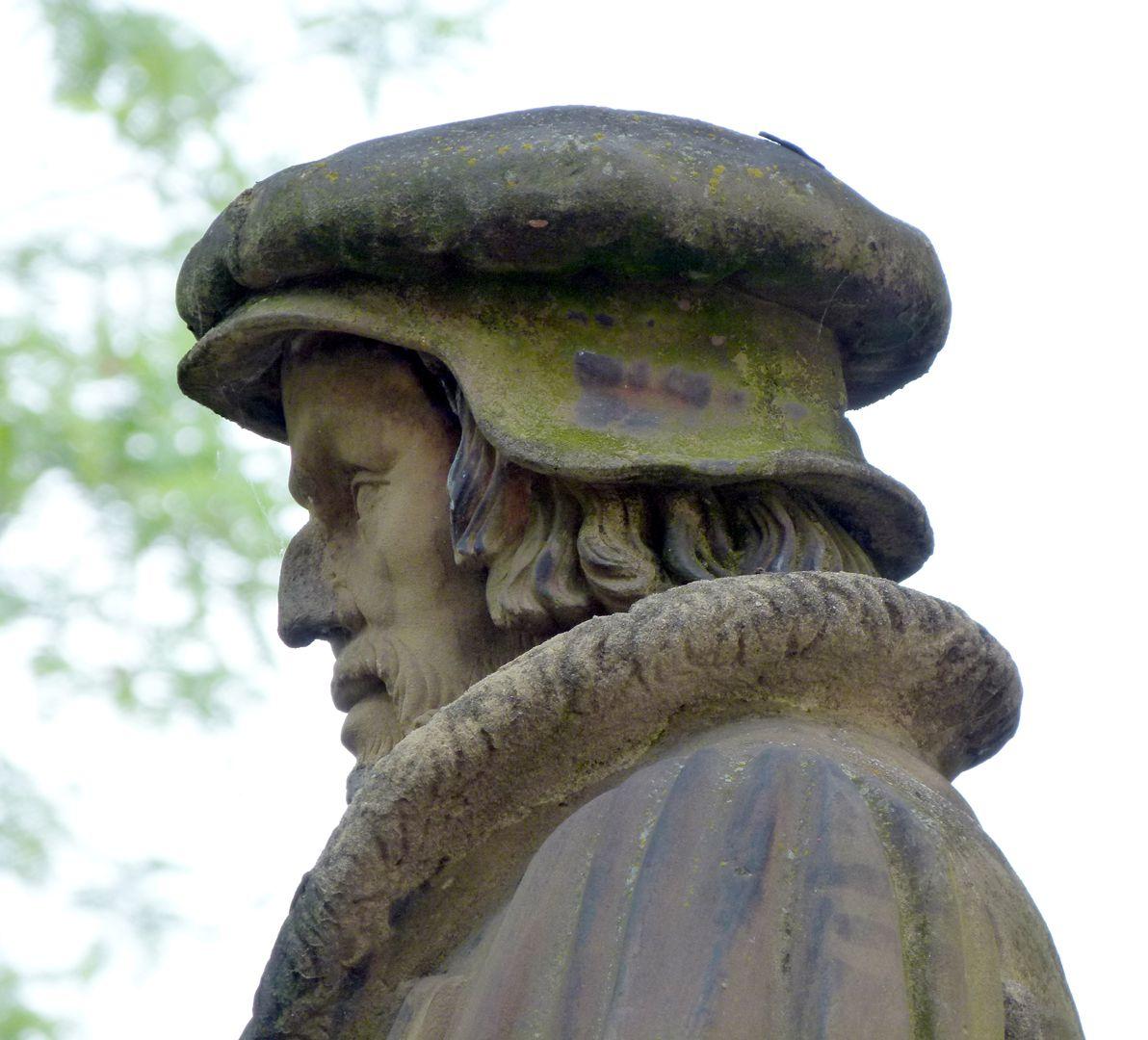 Monument of Philipp Melanchthon Detail