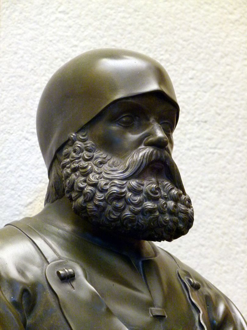 Statuette of Peter Vischer Detail