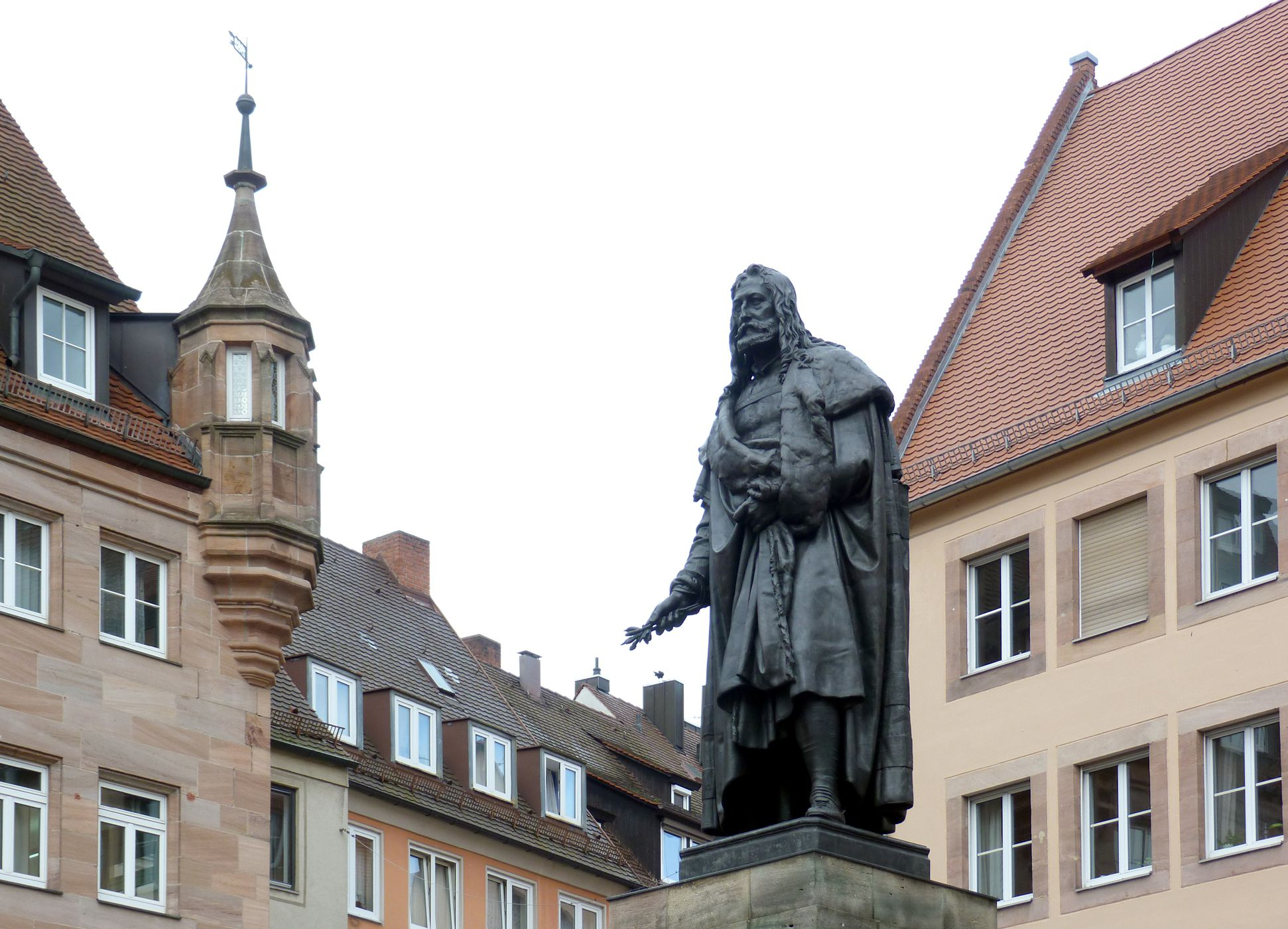 Monument of Albrecht Durer Diagonal view southeast
