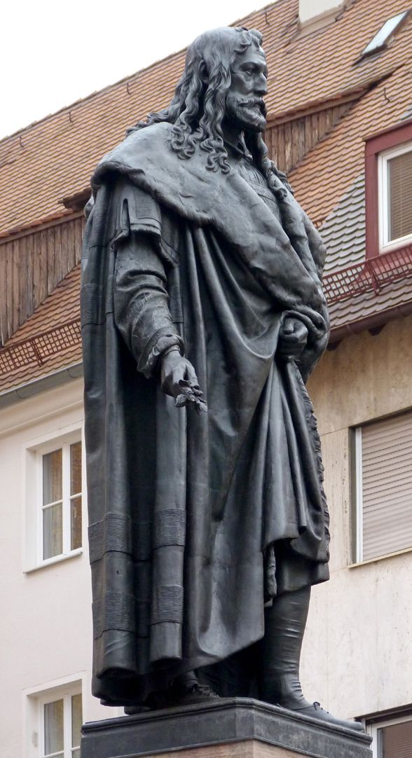 Monument of Albrecht Durer Diagonal view southwest