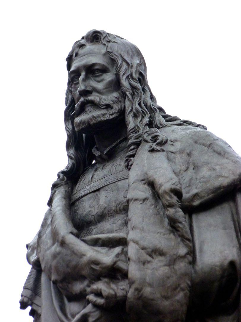 Monument of Albrecht Durer Detail bust