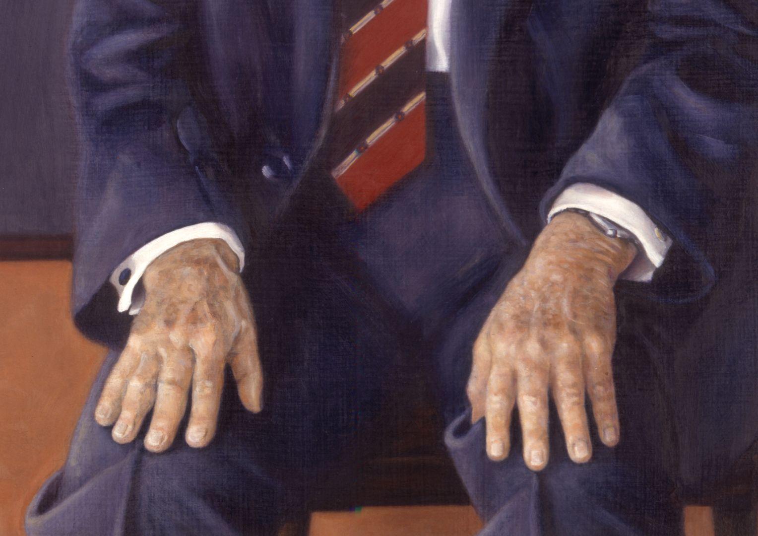 Dr. Andreas Urschlechter Detail with hands