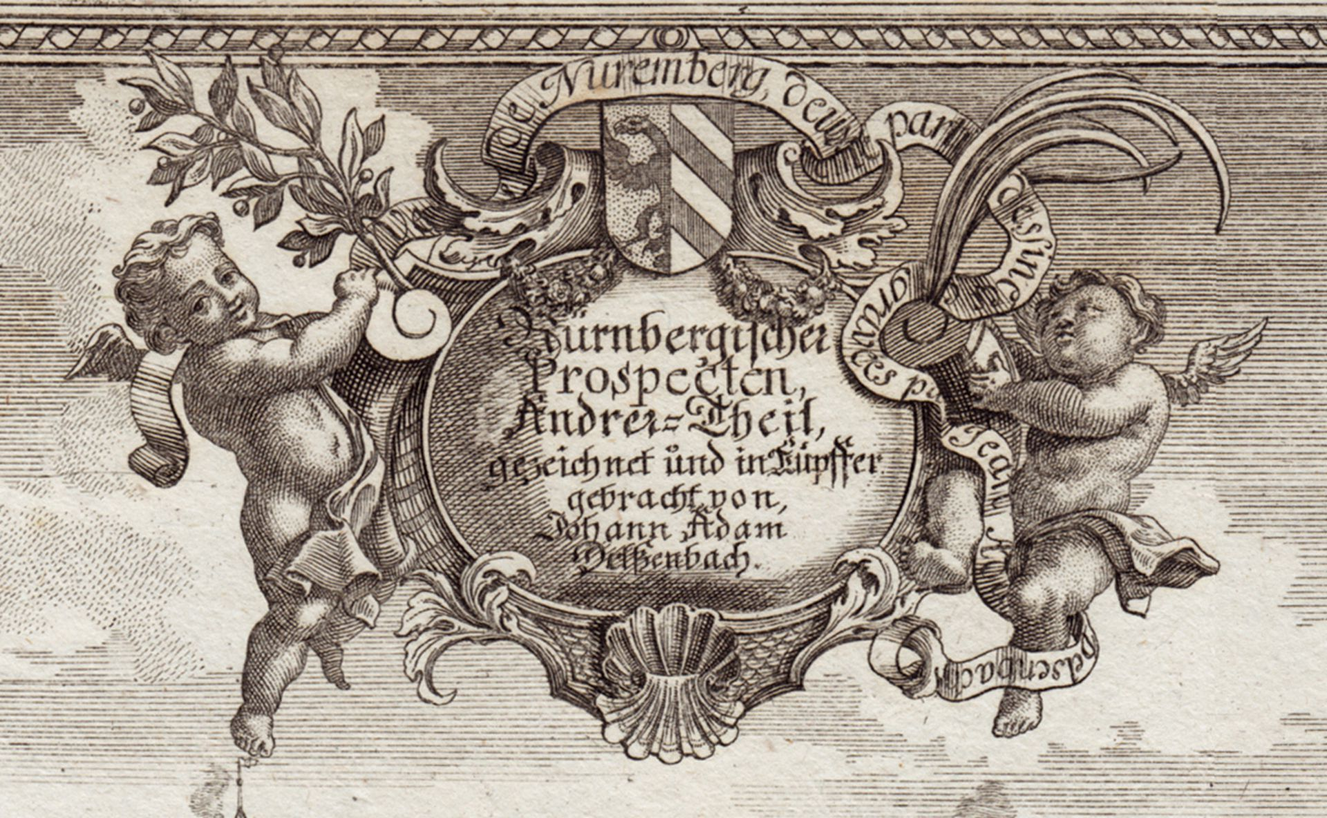 Nuremberg Prospects - other part Plaque with title