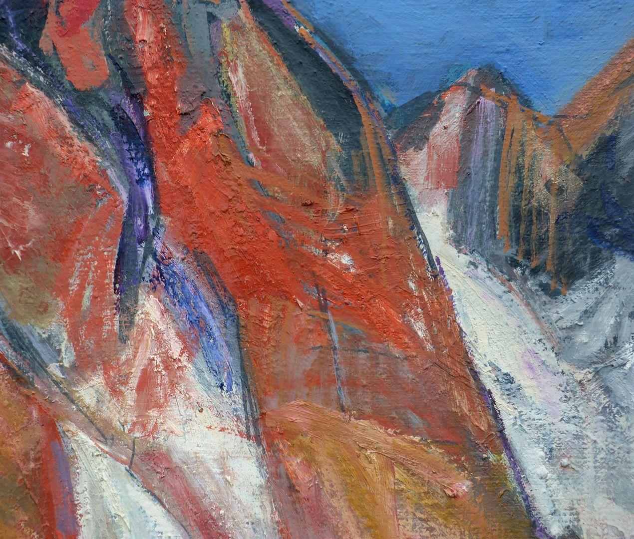 Dolomites: The Geisler Peaks Mountains and snow