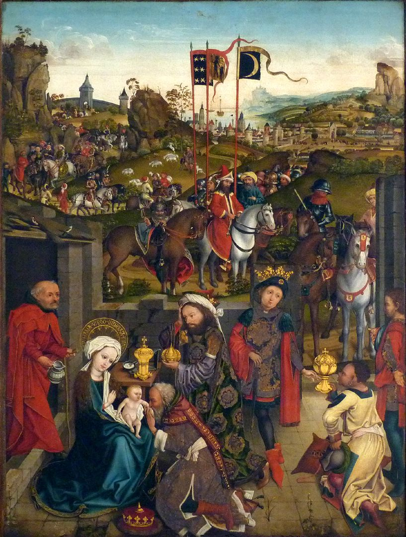 Altar of the Three Kings Adoration of the kings