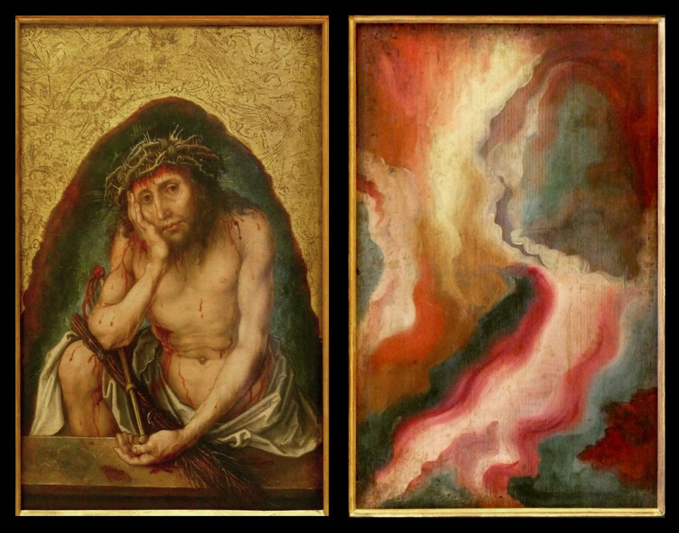 Christ as the man of sorrows Front and back