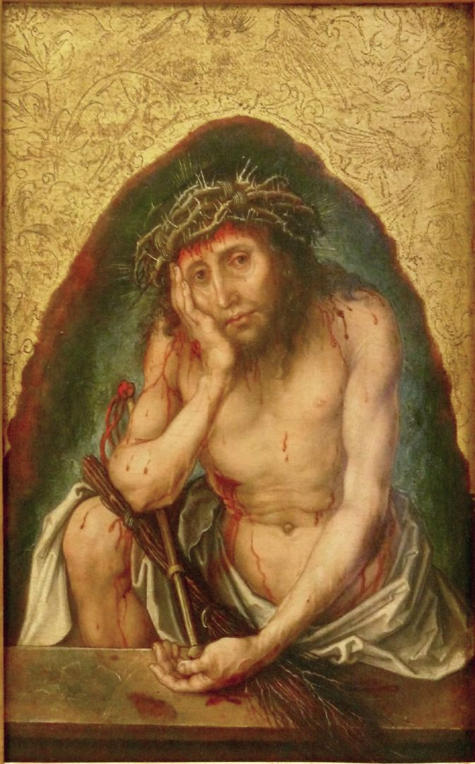 Christ as the man of sorrows Front